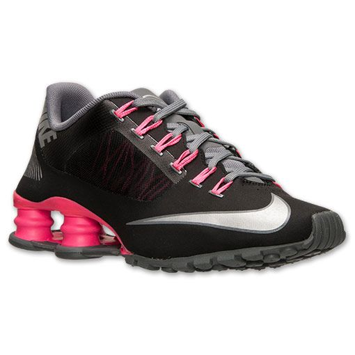 Women\u0027s Nike Shox Superfly R4 Running Shoes | Finish Line | Black/Metallic  Silver/