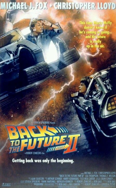 Alternate Poster For Back To The Future Part Ii 1989 With