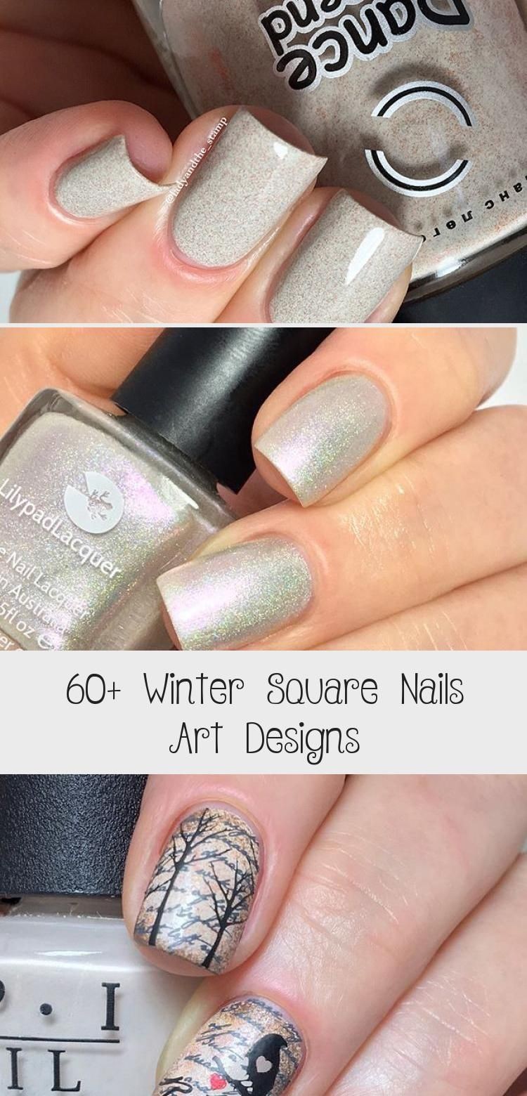 Photo of 60+ Winter Square Nails Art Designs – Tattoos and Body Art