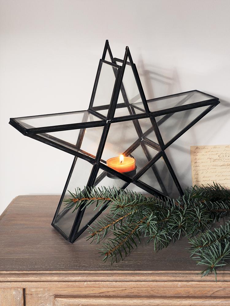 New Standing Star Tea Light Holder Christmas