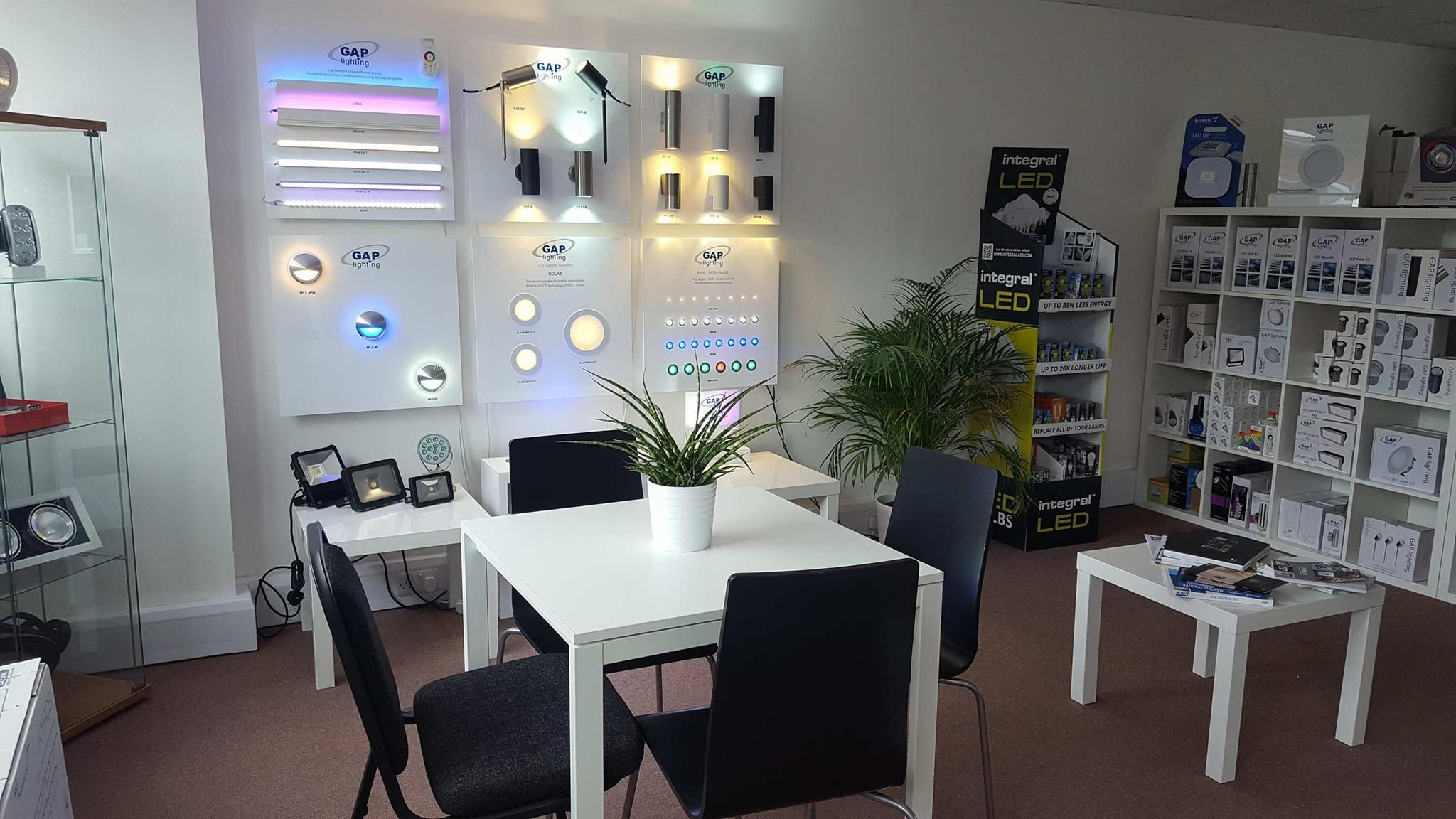 Source electrical supplies showroom LED lighting electrical