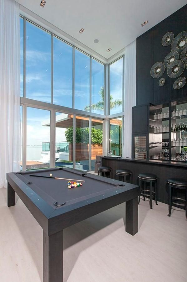 $37 Million Miami Waterfront · Pool TableMiami