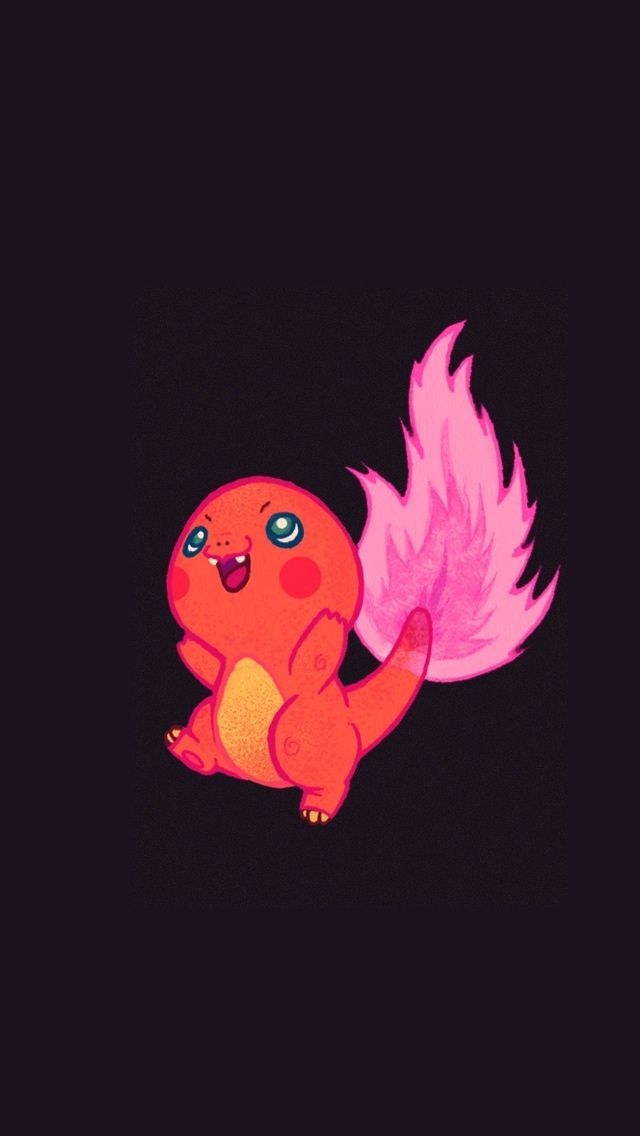 charmander cute pokemon iphone wallpapers mobile9