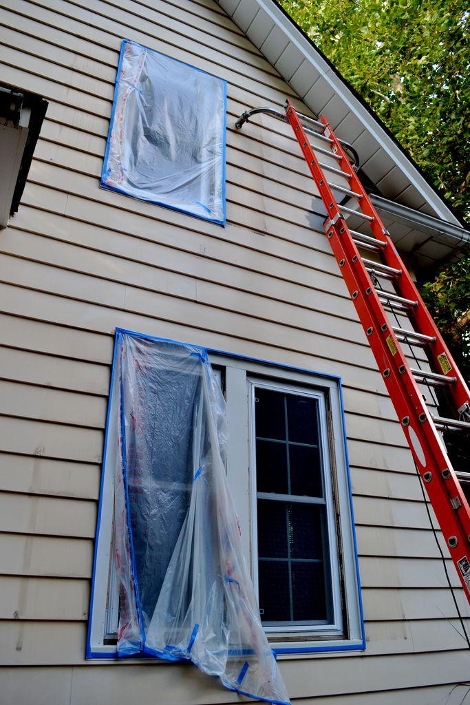Painting Aluminum Siding Newlywoodwards Painting Aluminum Siding Aluminum Siding Siding Paint