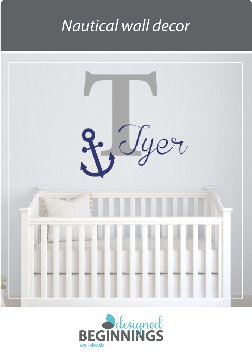 Nautical Wall Decor For Your Baby Nursery