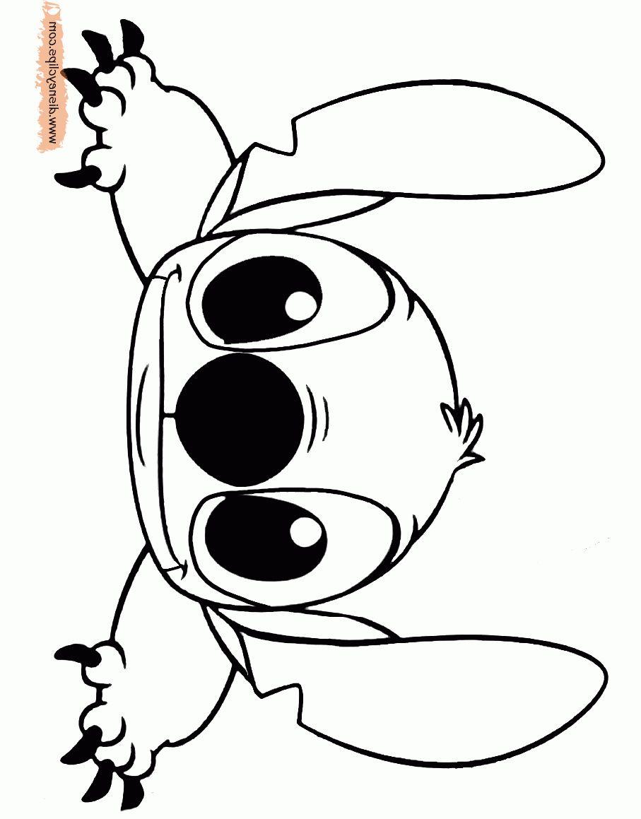 6 Coloriage De Stitch Bebe  Stitch coloring pages, Lilo and