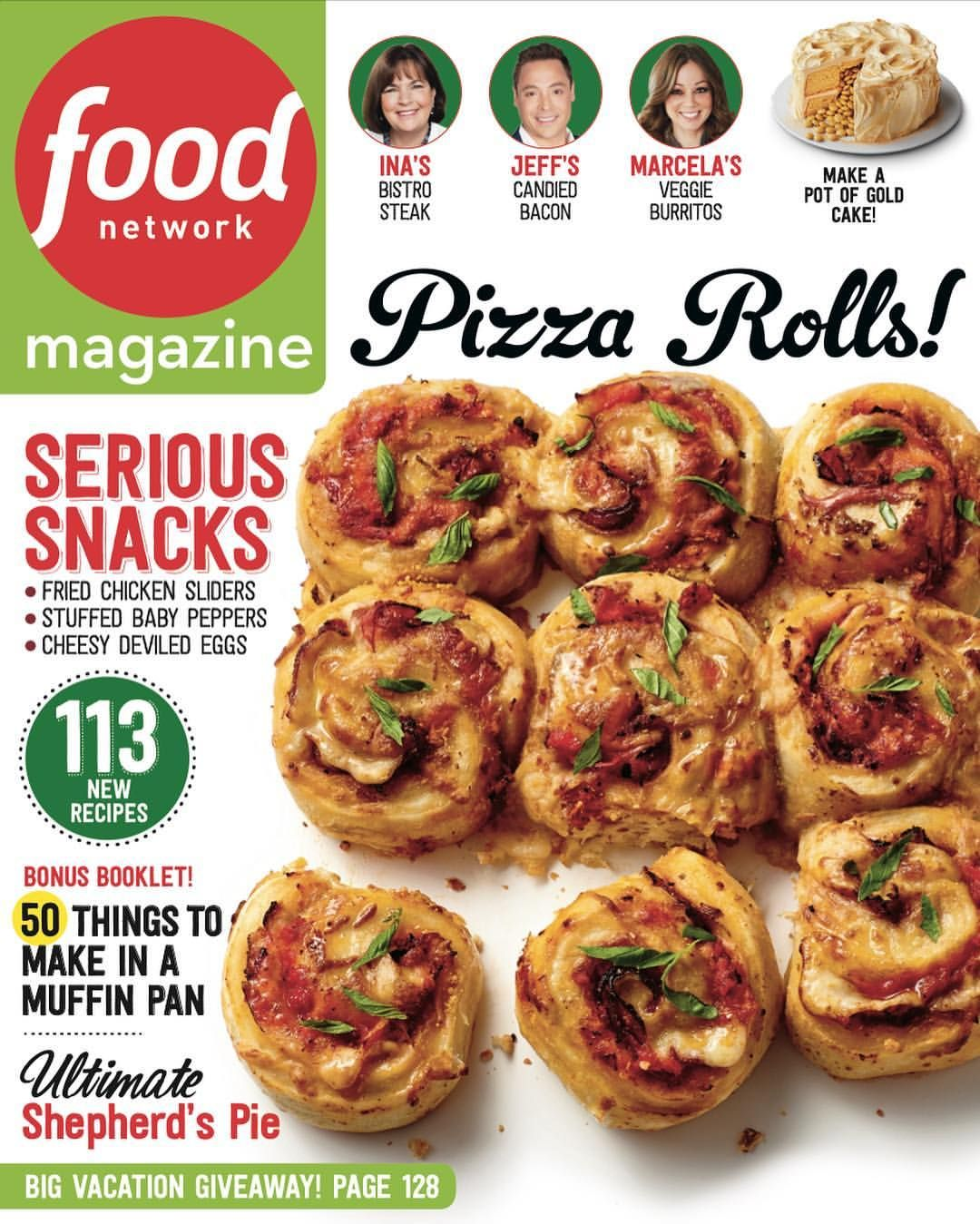 Ask the editors of food network magazine your cooking and cleaning name this dish pizza rolls recipe from food network kitchen via food network forumfinder Images
