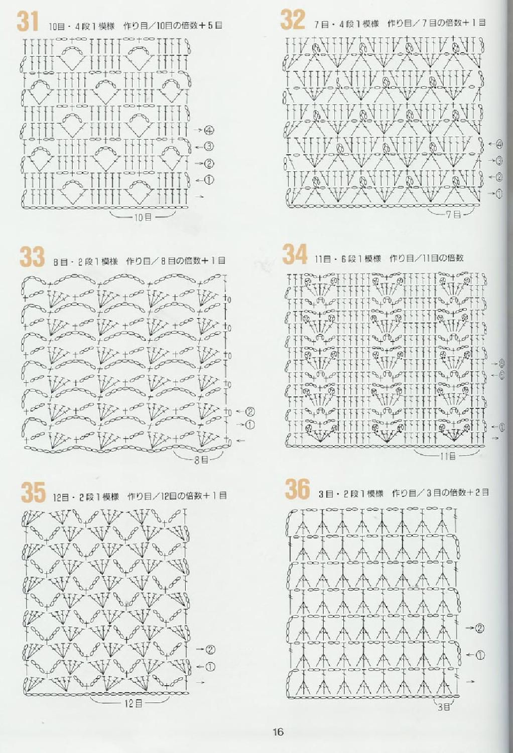 262 patrones crochet | crochet stiches | Pinterest | Patrones ...