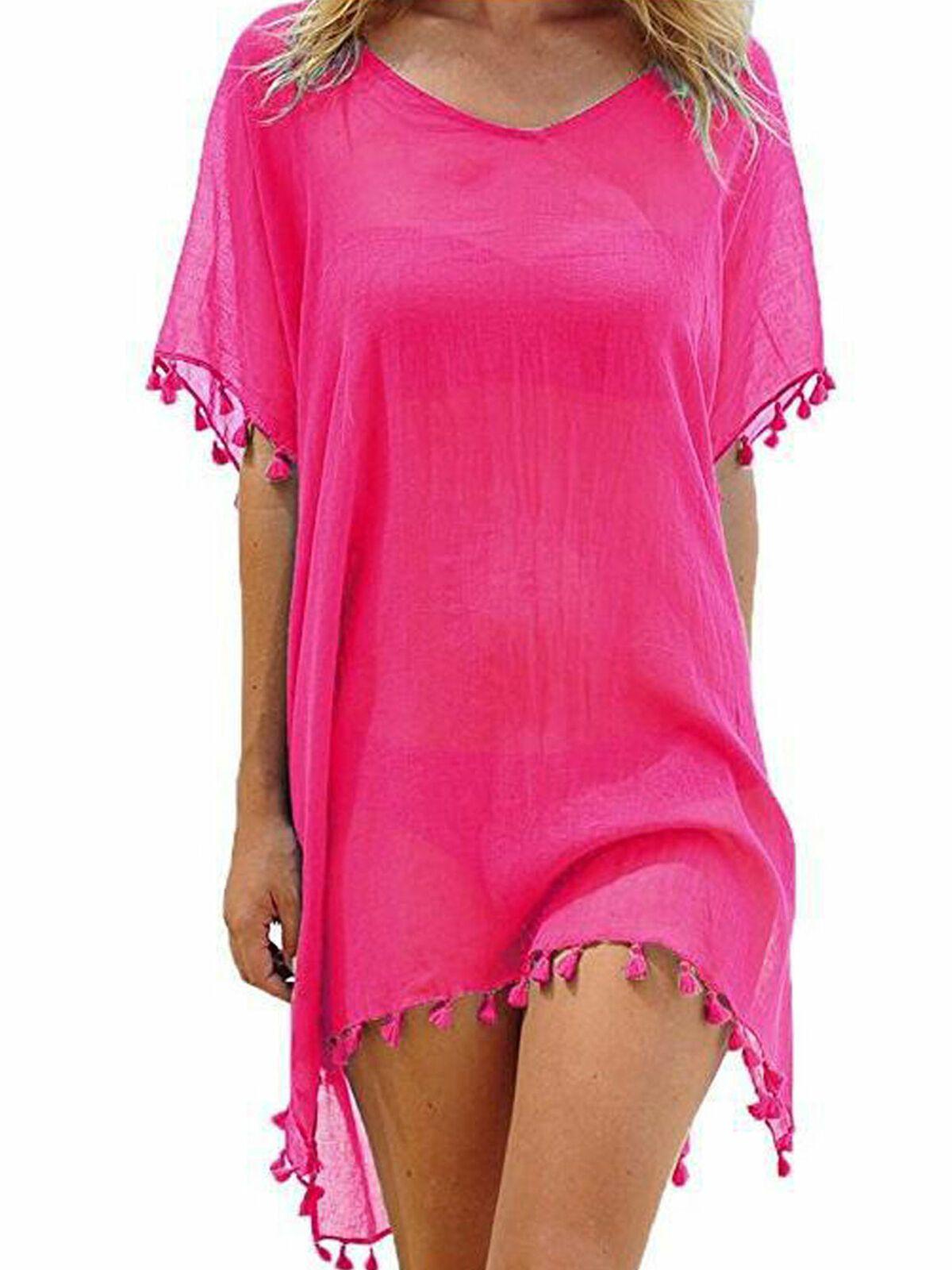 Multitrust Multitrust New Women Beachwear Swimwear Bikini Beach Wear Cover Up Summer Tassel Dress Walmart Com Swimsuit Beach Dress Beachwear For Women Women Swimsuits [ 1600 x 1200 Pixel ]