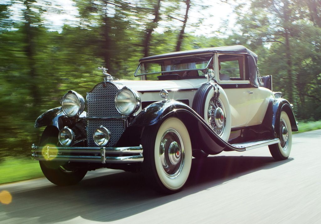 1931 Packard Deluxe Eight Convertible Coupe (840-479)