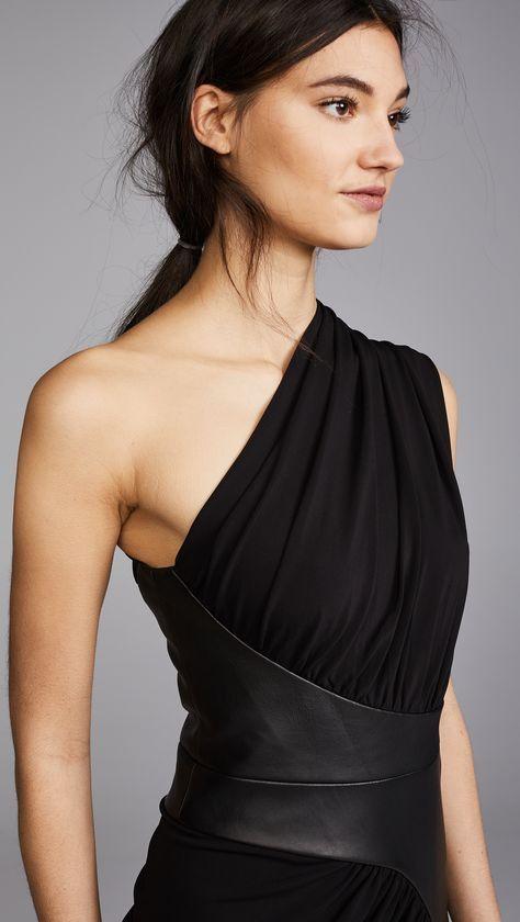 Photo of Kollette – Alexander Wang Asymmetrical Draped Dress – The world's largest fashio…