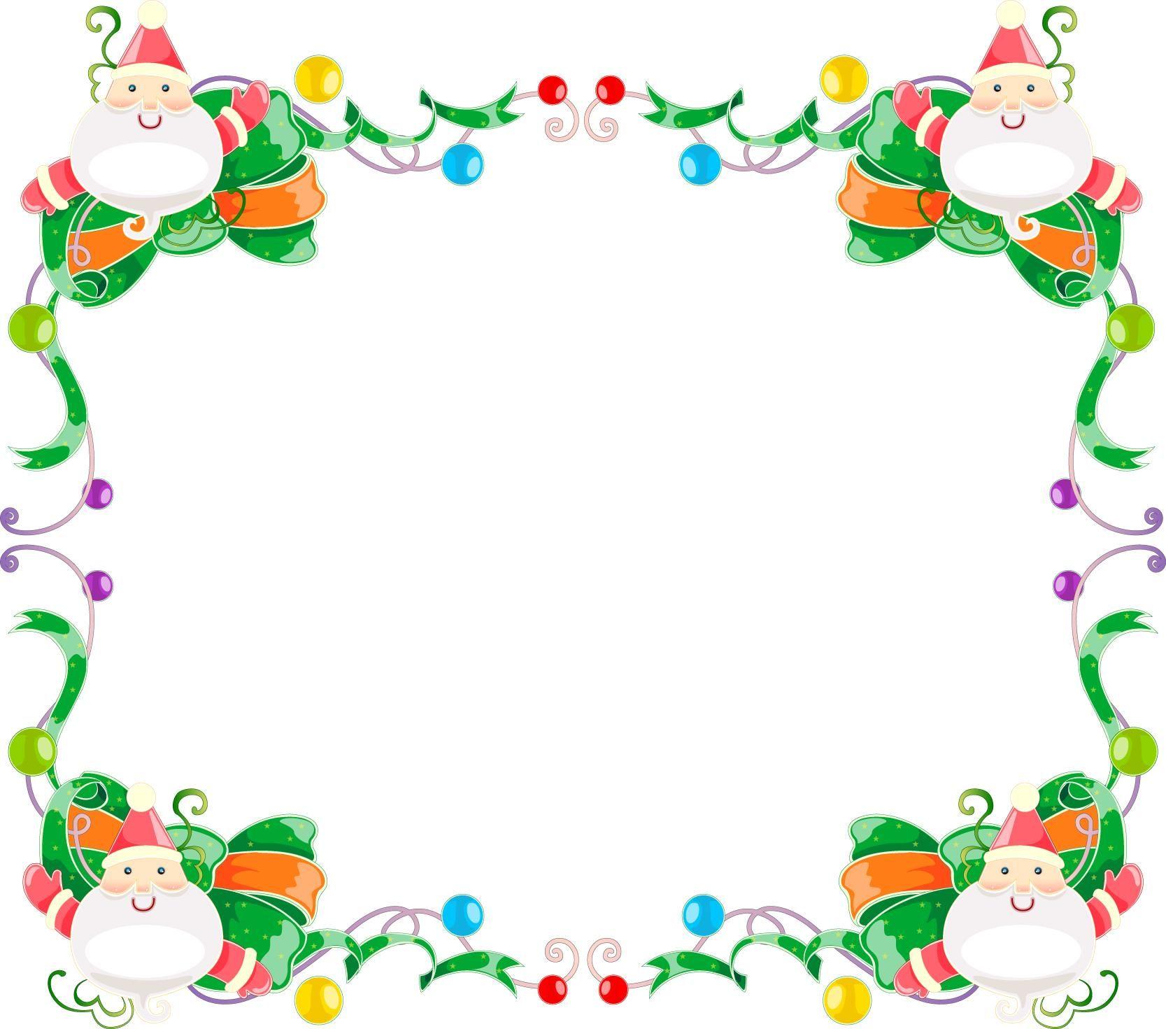 Christmas Border Design.Xmas Border Designs Mikulas Santa Claus Free Christmas