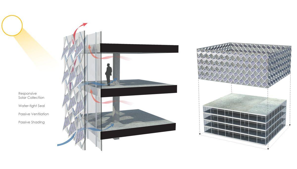 Metal Skin Panel Office Furniture