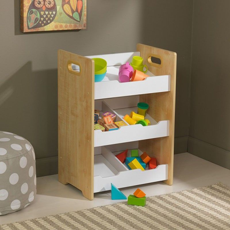 mueble de baldas para almacenaje de juguetes o librería de la