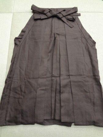 Hakama andon marrone scuro