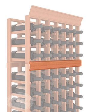 """Trim for join between racks and top boxed area.  Redwood, no stain Length: 60"""" Height: 1 1/2"""" Thickness: 3/8"""""""