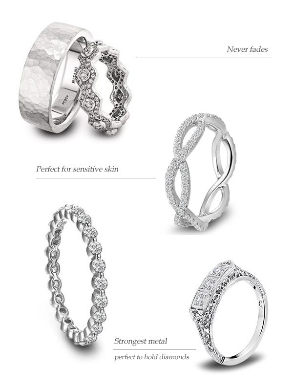 round rings cable in ring engagement wedding unity products dy platinum