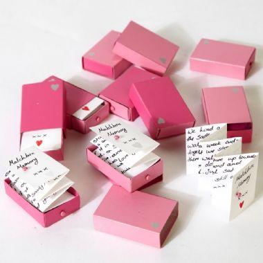Plain Match Boxes