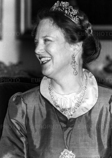 Queen Margrethe wore this tiara for a dinner during the Danish ...