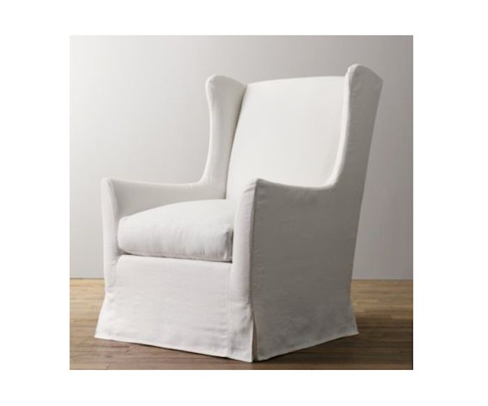 Wingback Swivel Glider Furniture Love Nursery Glider