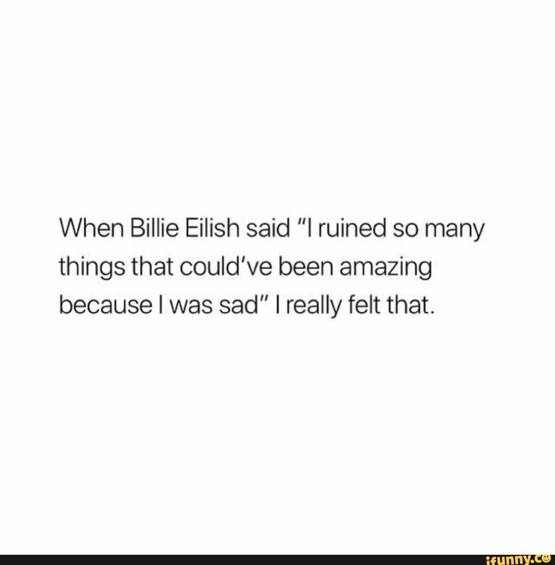 Lyric Quotes Billie Eilish _ Lyric Quotes