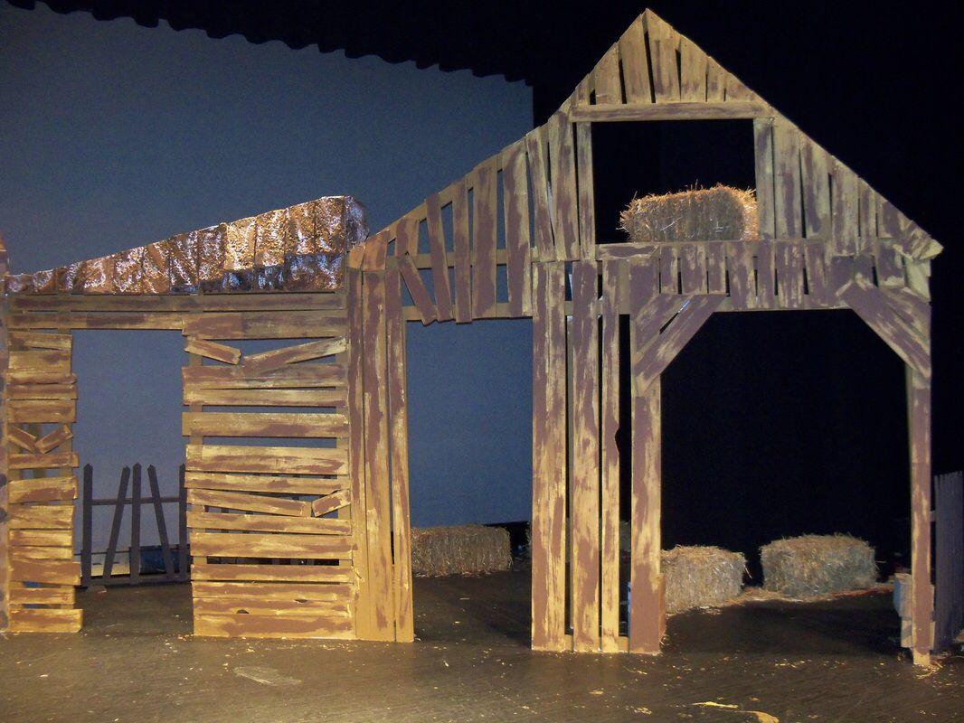 Nativity Idea Nativity Christmas Play Set Design