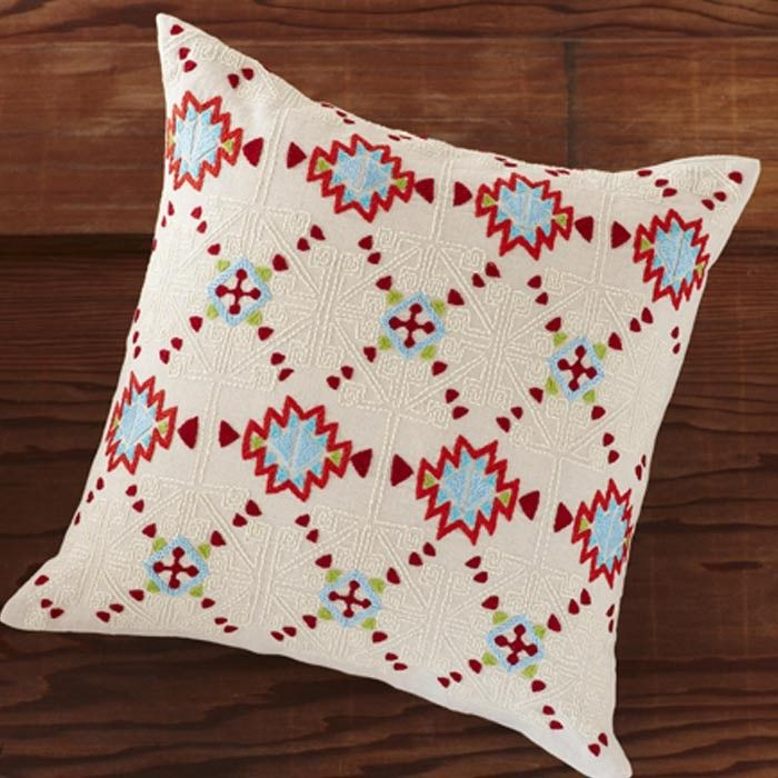 Coyuchi Artisan Pillow -LOVE LOVE LOVE