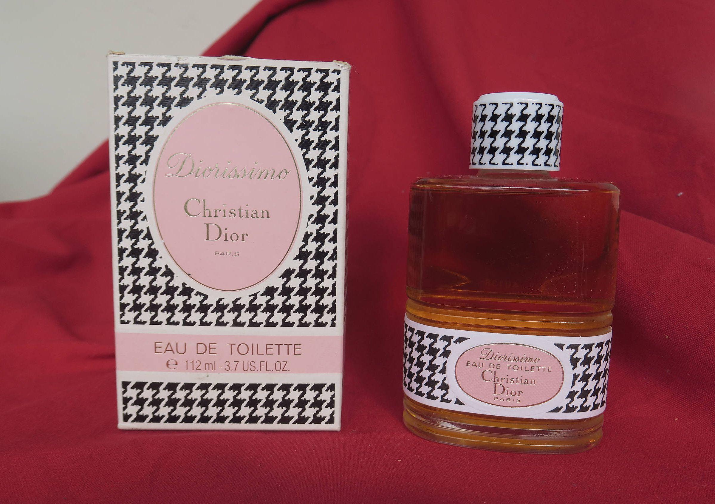 Diorissimo De Christian Dior Eau De Toilette 112 Ml Flacon Vintage