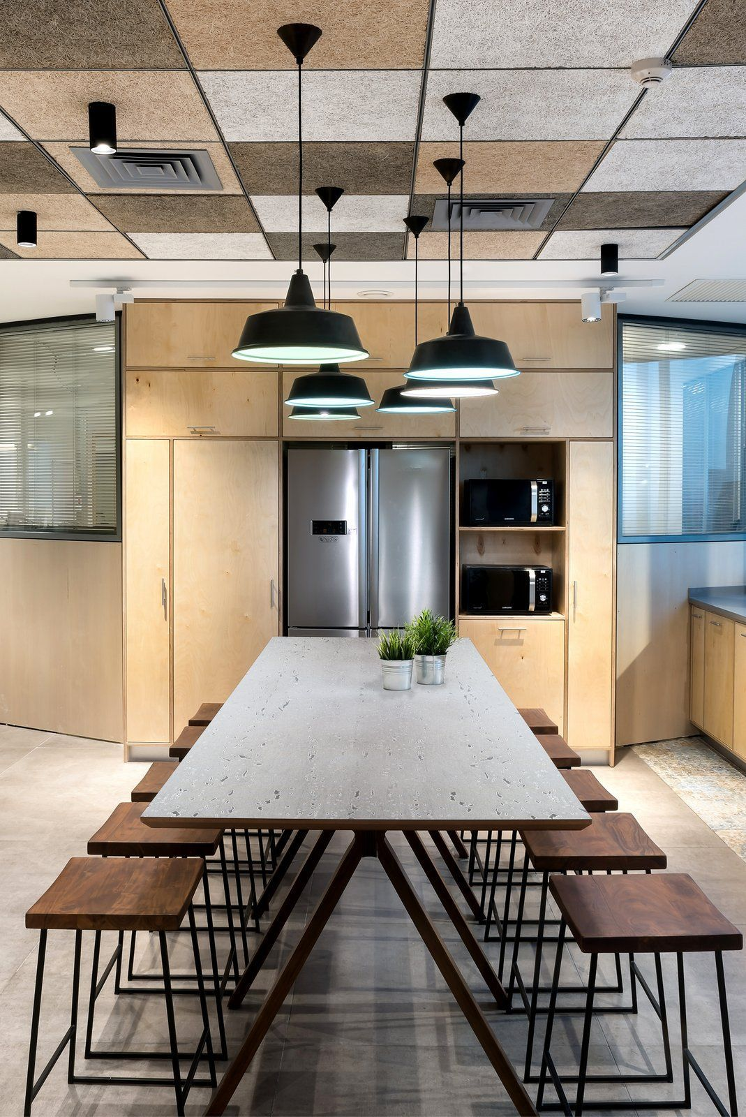 Office Break Room Design: Office Tour: Viaccess-Orca Offices – Ra'anana