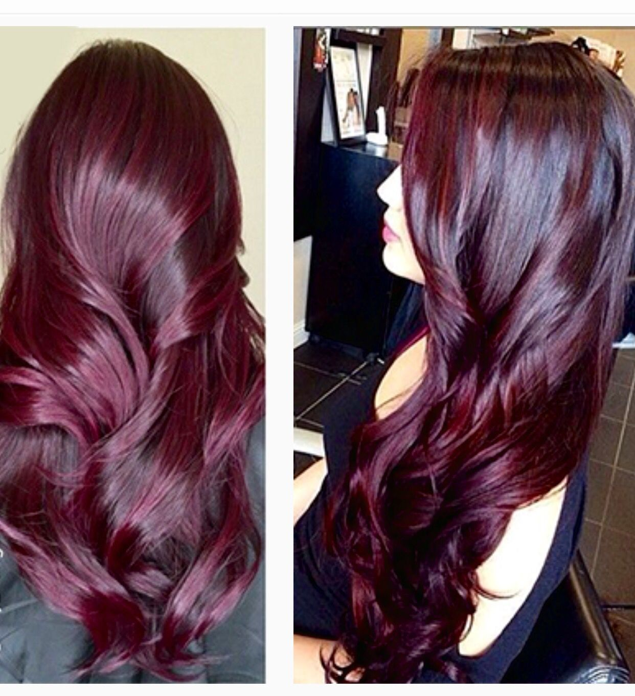 Deep Rich Wine Hair Color Hairstyles To Try In 2018