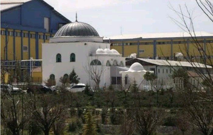 Selman-ı Farisi mosque-ONSA mosque-Constructive: Yakup Beler-Year built: Unknown-Repair: Citizens-Repair year: 2015- (In ONSA biscuit factory garden) Karaman