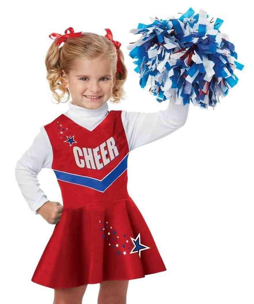 Little Girl Cheerleading Outfits  Girls cheerleader costume
