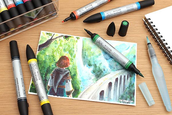 Use These Professional Grade Markers To Create Beautiful