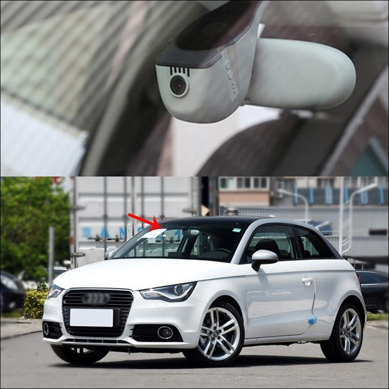 73.59$  Watch now - http://ali1a8.worldwells.pw/go.php?t=32688015114 - For Audi A1 2014 Car DVR Car Video Recorder 1 installation Novatek 96655 wifi Car black box Keep Car Original Style