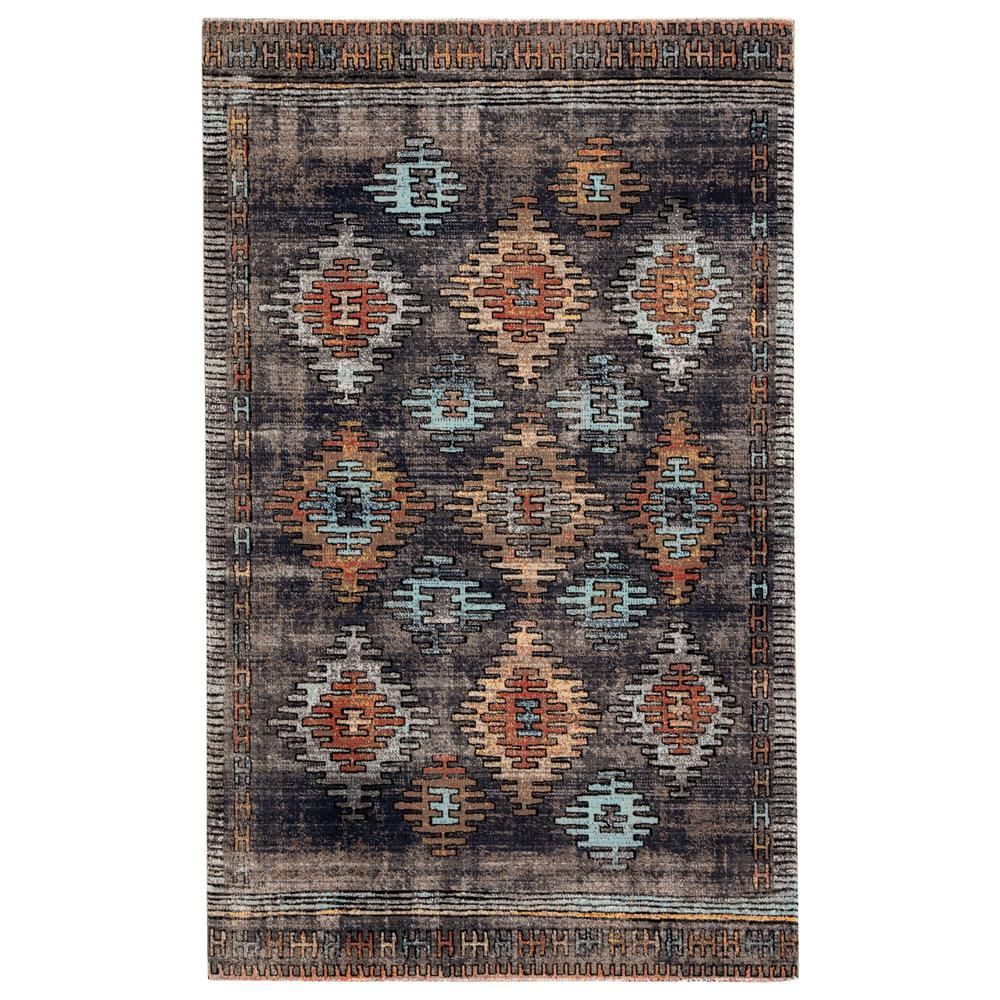 Jaipur Living Polaris Tribal 8 Ft 10 In X 12 Ft Blue Area Rug Rug142949 In 2020 Outdoor Rugs Area Rugs Indoor Outdoor Rugs