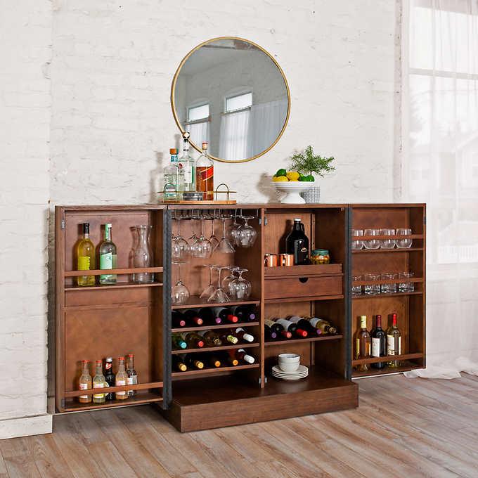 amherst bar cabinet costco bar