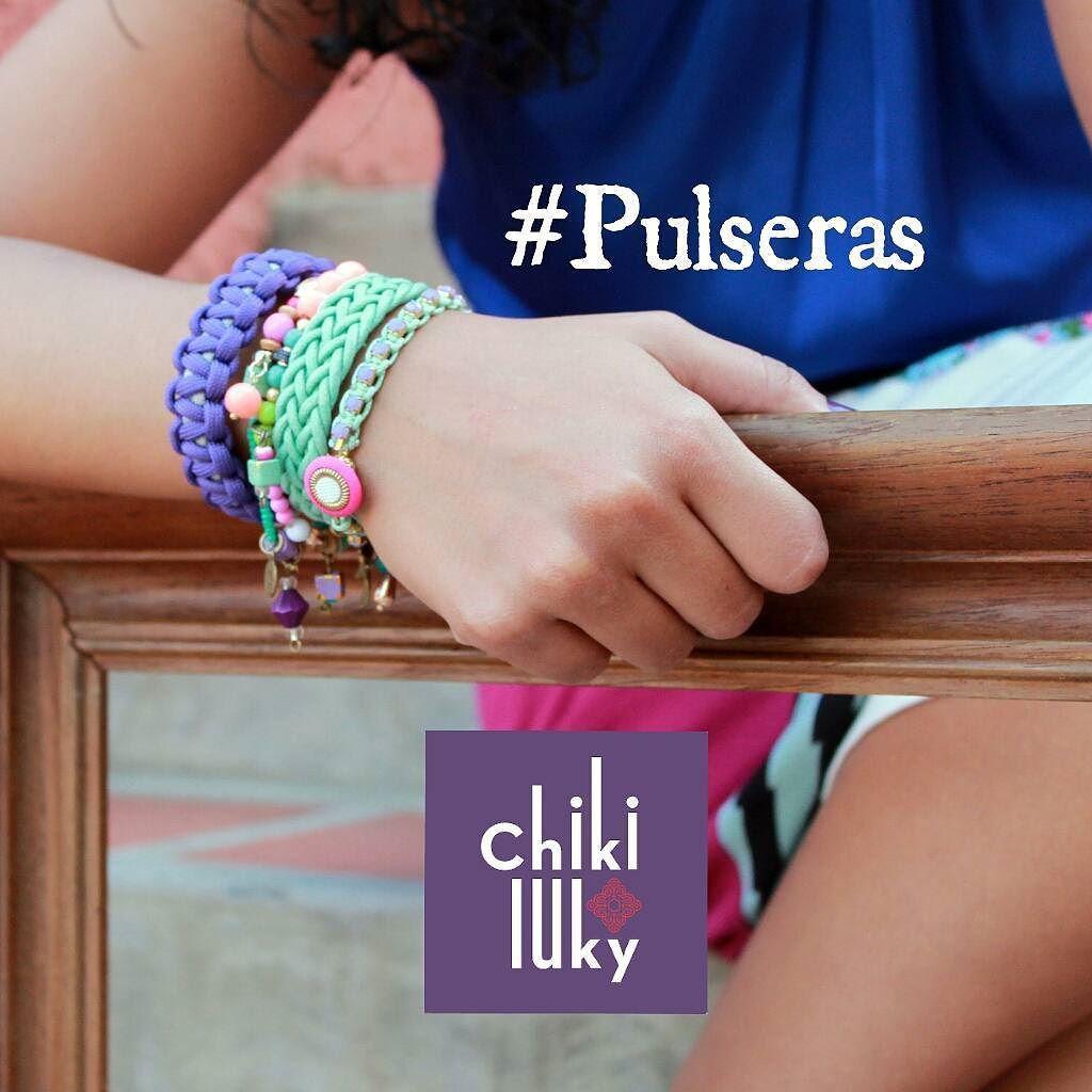 #Pulseras y más pulseras !!! More and more #bracelets !!! #LookChikiluky #NuevaTemporada #NewSeason #trendy #wellnesswednesday #miercoles #happyDay #fashionista #Colorfull #Colores #Accesorios #rutadelaguagua #mothersDay #ootd