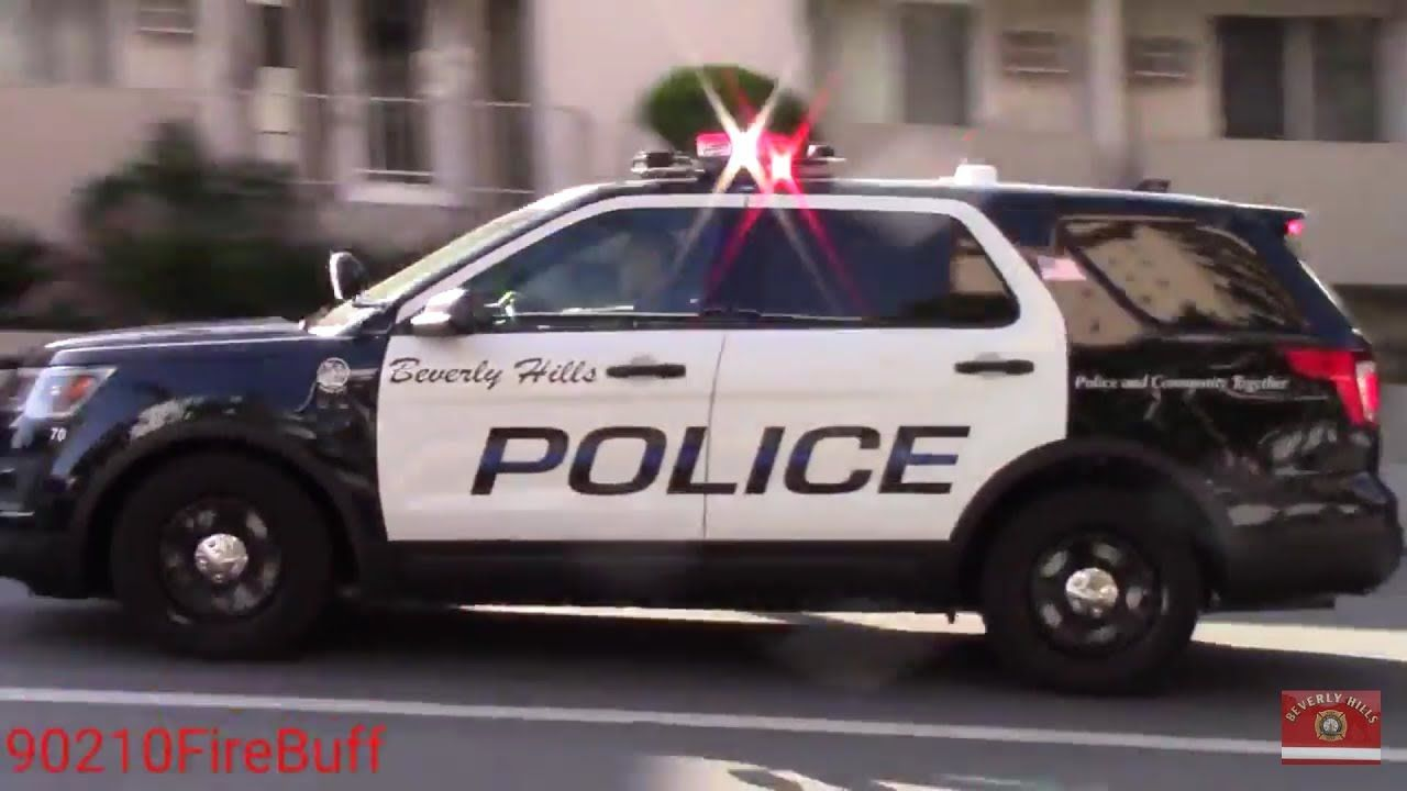 Ca Beverly Hills Police Dept Police Cars Police Emergency Vehicles