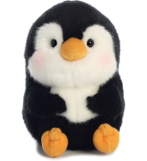 Peewee Penguin Rolly Pets Stuffed Animal By Aurora World Front View Cute Stuffed Animals Plush Stuffed Animals Cute Plush