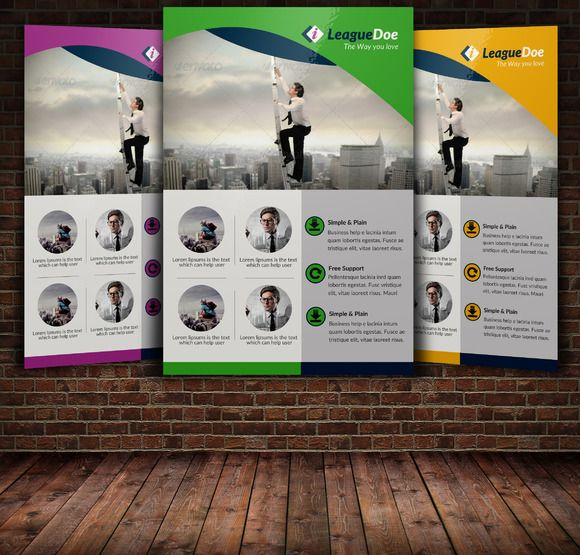Recruitment Agency Flyer Template by Psd Templates on Creative - free product flyer templates