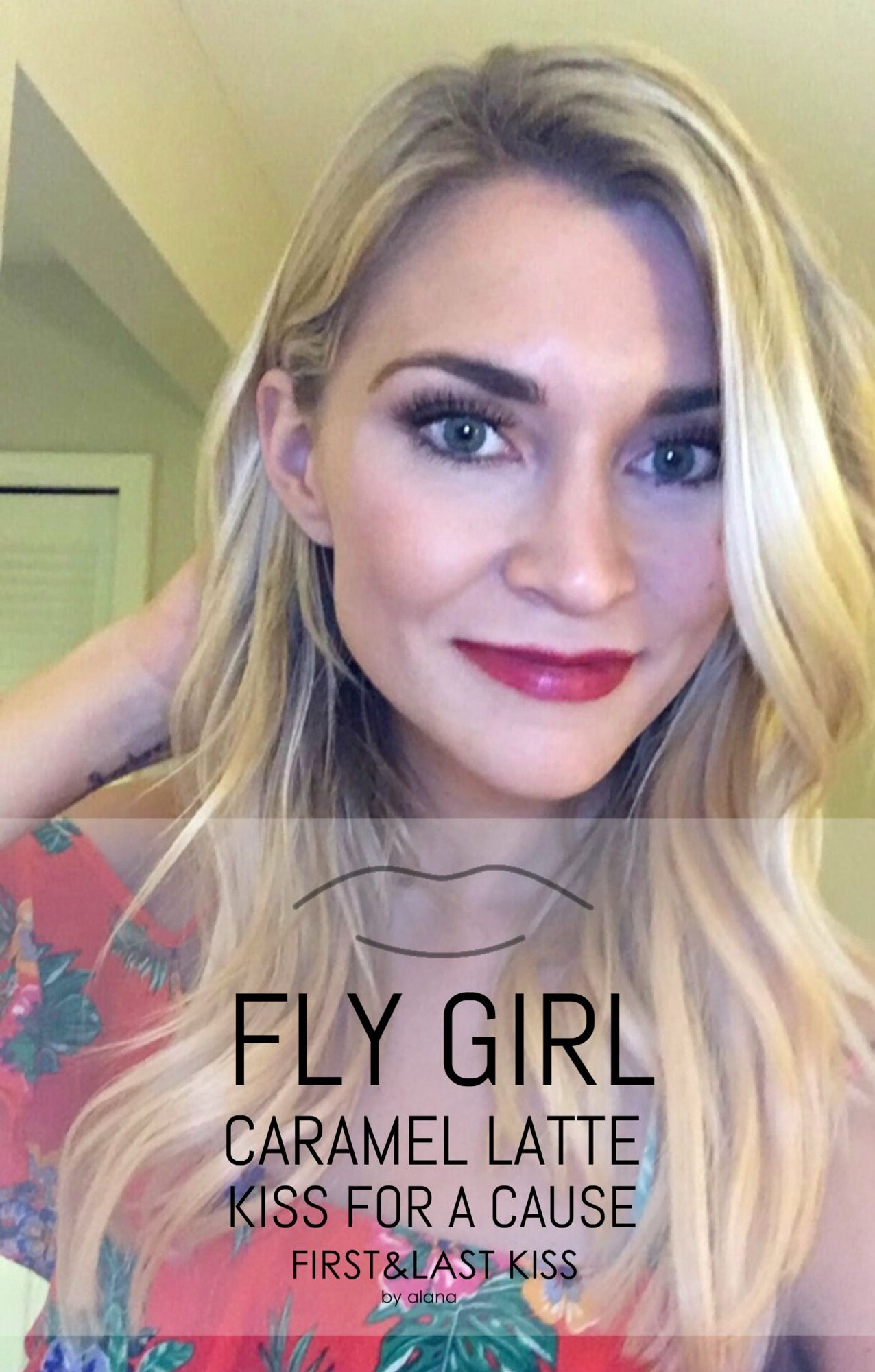 Fly Girl Caramel Latte Kiss For A Cause Combo Lipsense Glossy