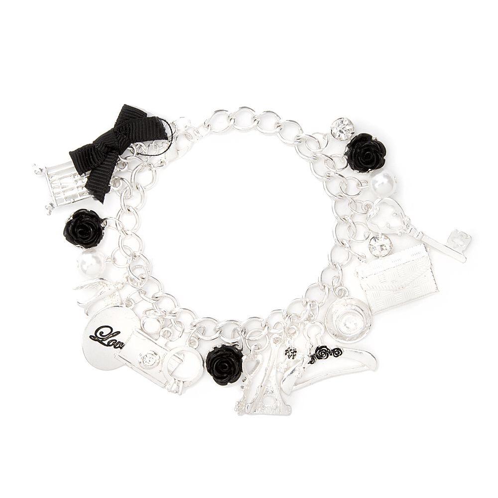 Paris Charm Bracelet  Claire's