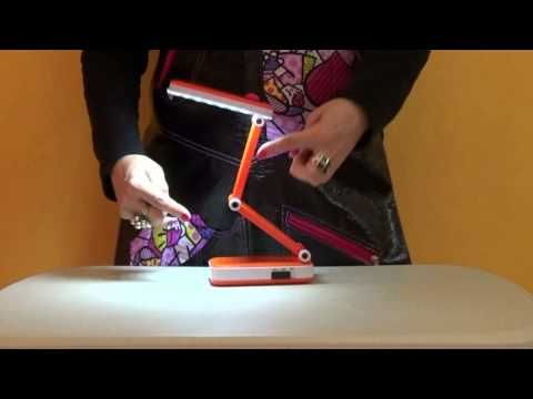 Lámpara LED Multiposiciones - YouTube