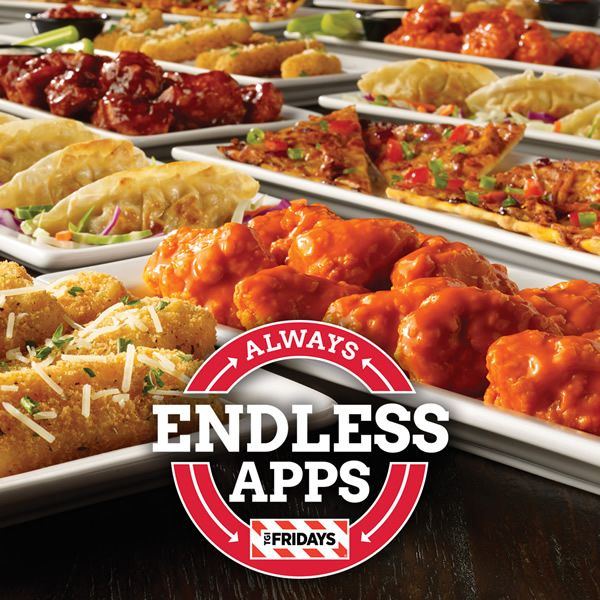 Tgif Endless Apps Appetizer Recipes Tgi Fridays Menu Tgi Fridays