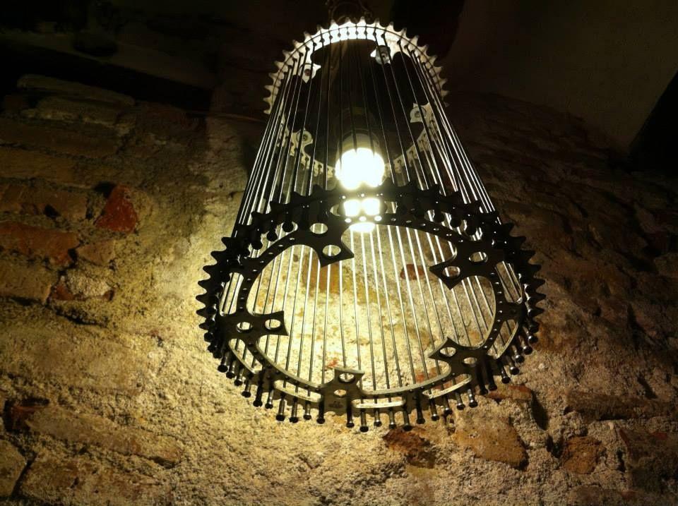 Lamps Lamparas Made By El Ciclo Lampada De Teto Mobilia Feita Com Partes De Carros Artesanato Com Lampada
