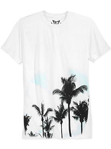 Univibe Palm Tree Graphic Print T Shirt Black Mens Medium New