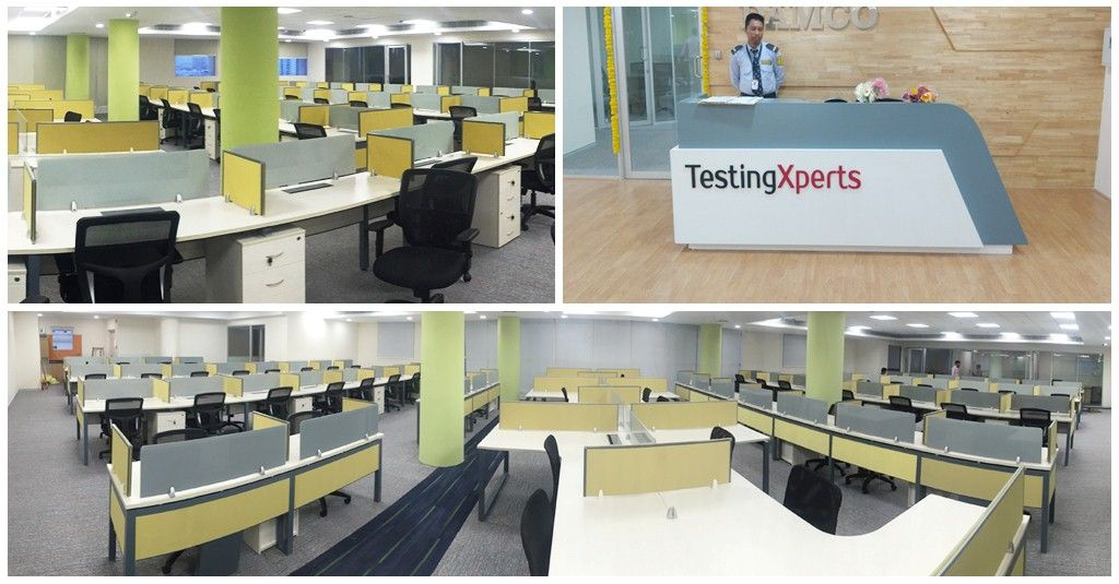 Testingxperts Is Growing We Are Happy To Announce That We Have Now Moved Into A Brand New And Much Bigger Test Lab In Hyderabad T Telangana Home Decor Desk