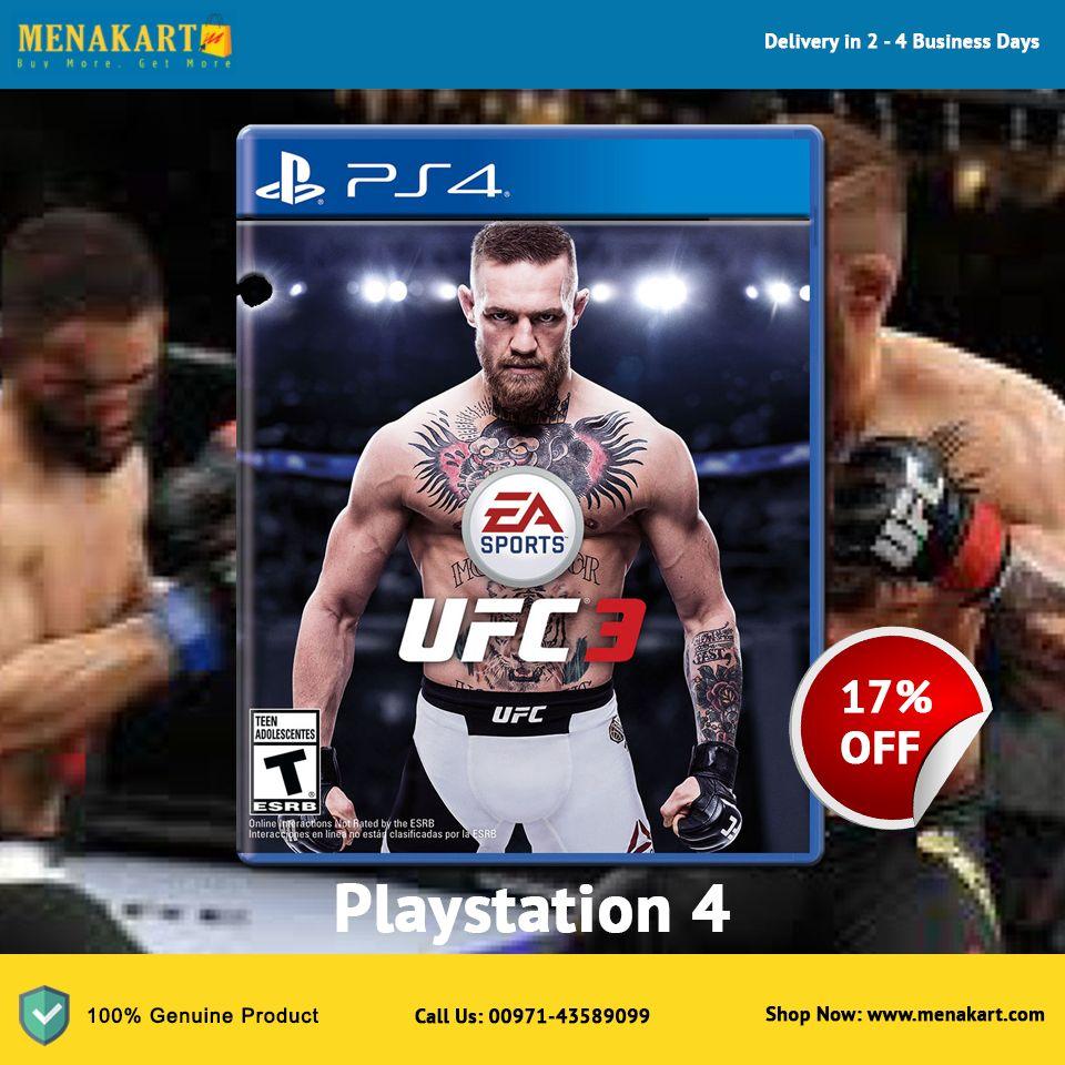 UFC 3 Playstation 4 Ufc, Ufc training, Ufc fighters