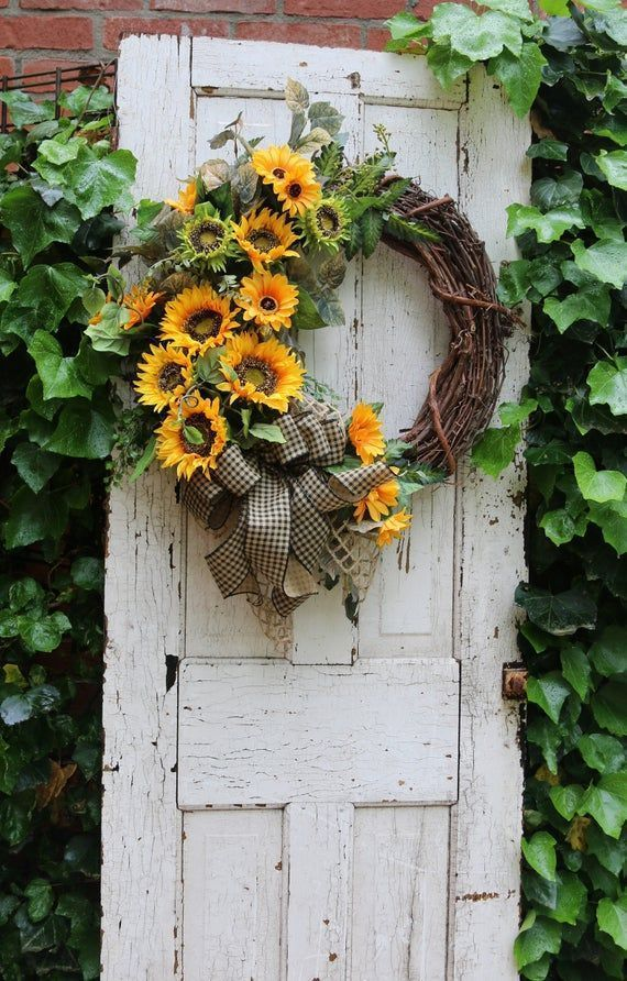 Farmhouse wreath for Front Door Sunflower wreath Summer wreath Rustic Country Double Door Sunflo #doubledoorwreaths Farmhouse wreath for Front Door Sunflower wreath Summer wreath Rustic Country Double Door Sunflo #doubledoorwreaths Farmhouse wreath for Front Door Sunflower wreath Summer wreath Rustic Country Double Door Sunflo #doubledoorwreaths Farmhouse wreath for Front Door Sunflower wreath Summer wreath Rustic Country Double Door Sunflo #doubledoorwreaths