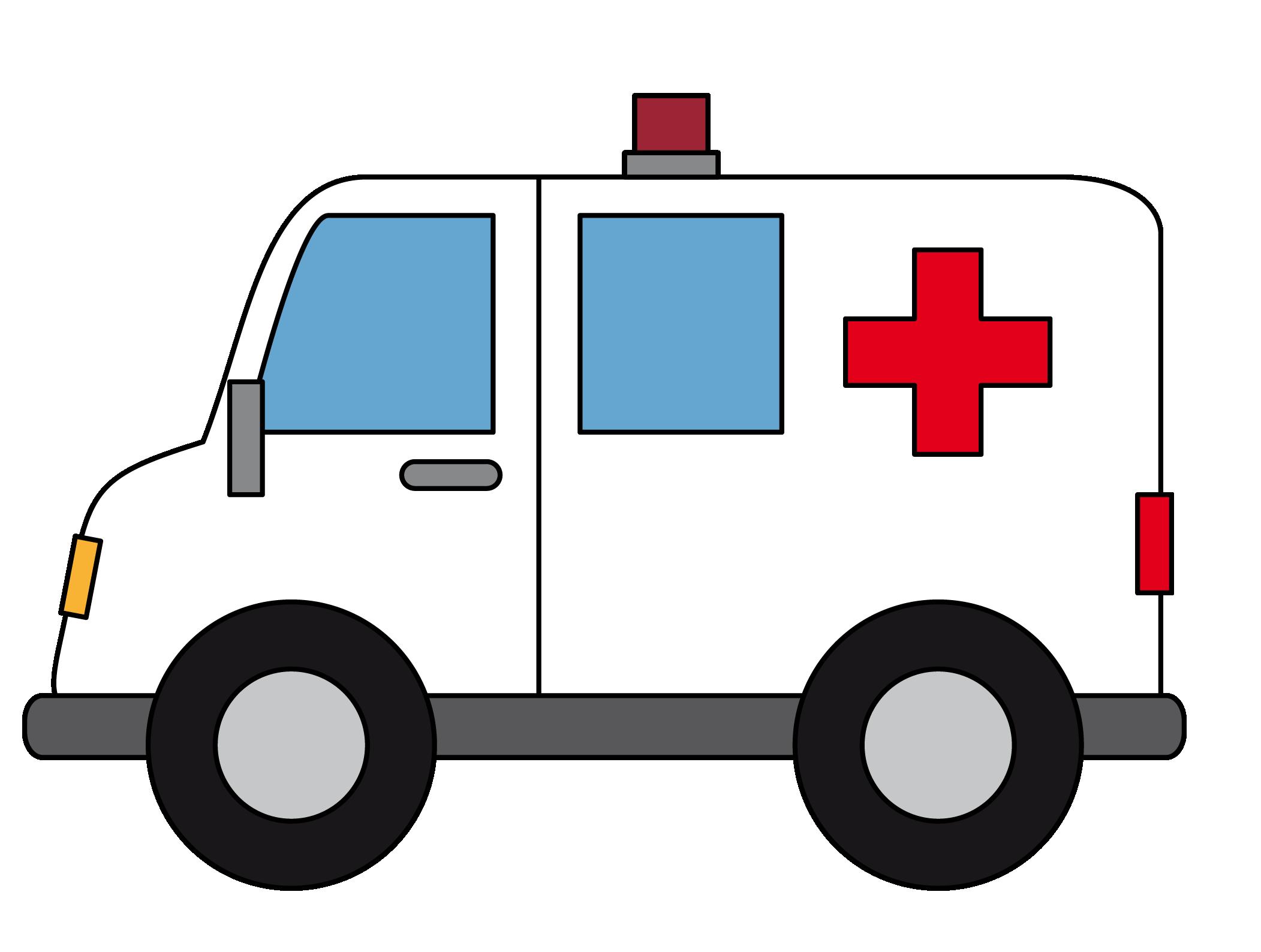 Free To Use Amp Public Domain Ambulance Clip Art